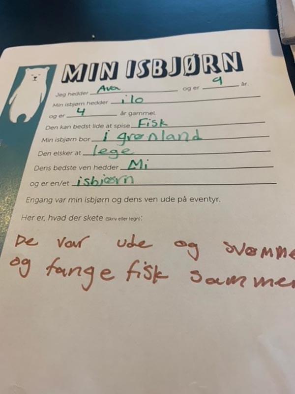 Avas brev
