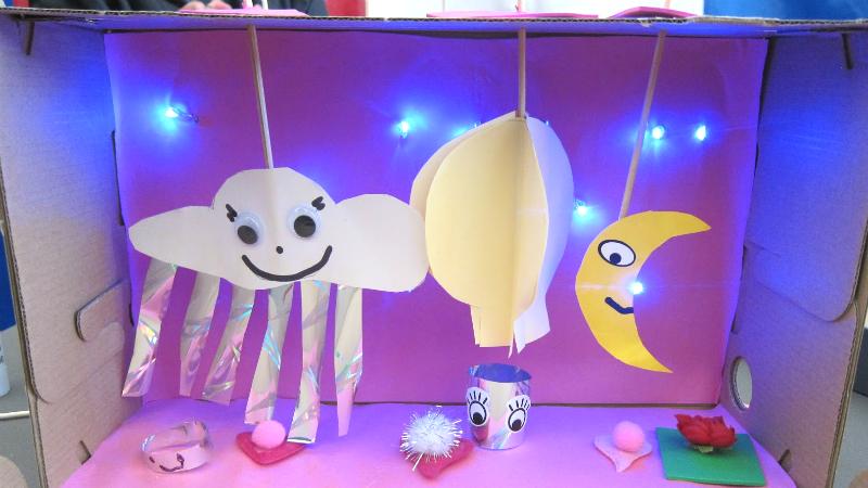 Spøgelse-dukketeater
