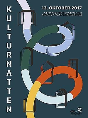 Officiel plakat for Kulturnatten 2017