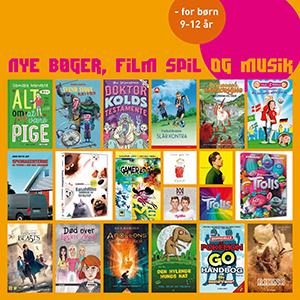 Forsider fra nye bøger for børn