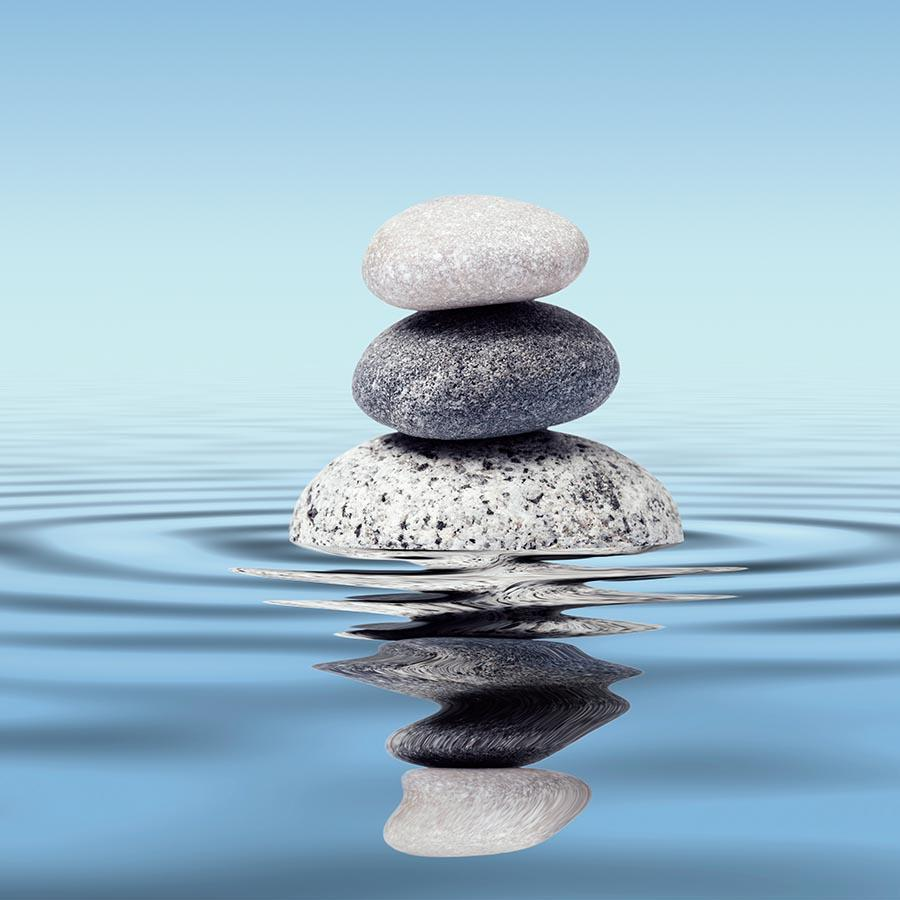 Sten i havet
